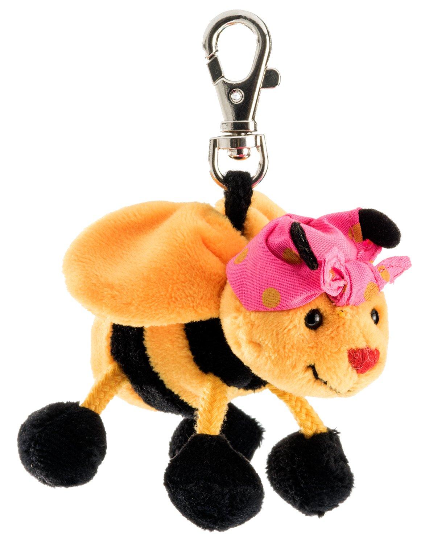 Schlüsselanhänger Biene Plüsch Plüschbiene Schaffer