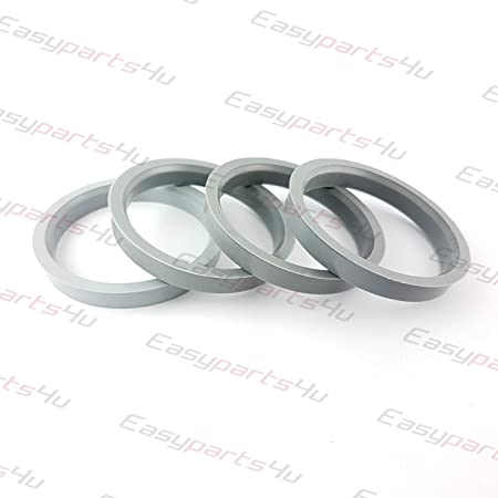 4x Plastique Bagues De Centrage 64,0-56,1 pour roues en alliage