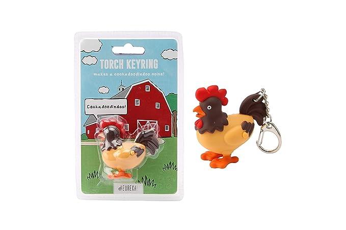 Eureka GB02750 - Llavero, diseño de gallo: Amazon.es ...