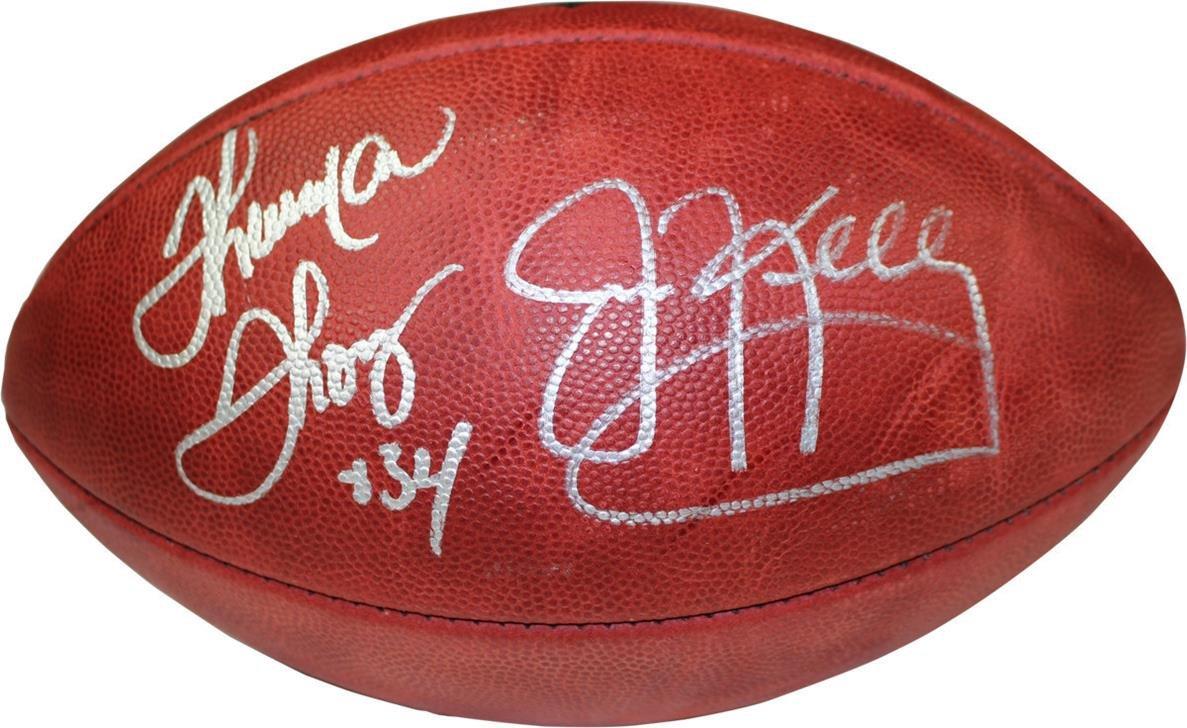 2019人気特価 NFL Thurman Football Buffalo Billsジムケリー& NFL Thurman Thomasデュアル署名Duke Football B00Z1XKCOU, 茨城日本酒 井坂酒造店:52bf3b31 --- movellplanejado.com.br