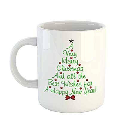 4cd961cfd97e8 Buy iKraft Blessed Christmas Quotes Coffee Mug- Best Secret Santa Gifts  Ideas for Friends