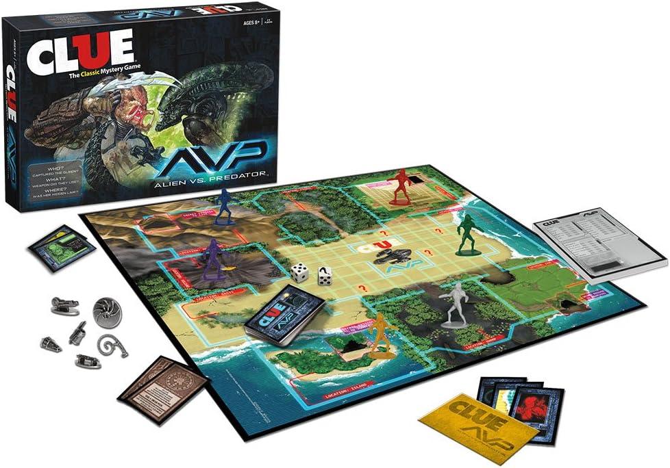 Clue Alien Vs Predator: Amazon.es: Juguetes y juegos