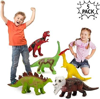 5 Dinosaurios Juguetes Grandes 14 A 16 Pulgadas Aspecto Realista Dinosaurio Grande Perfectos Para El Coleccionista Entusiasta Juguetes Para Aficionados De Fiestas Para La Educacion De Bebe Ninos Amazon Es Oficina Y Papeleria Los dinosaurios fueron los habitantes más grandes que nos antecedieron y a los que podemos acceder a través de una cantidad enorme de juegos para concluir, hay muchos juegos y juguetes de dinosaurios disponibles en tiendas de la calle como juguetos, el corte inglés o toysrus o bien. amazon es