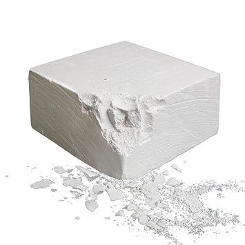 ALPIDEX Pastilla de magnesio 56 g 100% carbonato de magnesio, Weight Plates:Chalkblock 56 g: Amazon.es: Deportes y aire libre