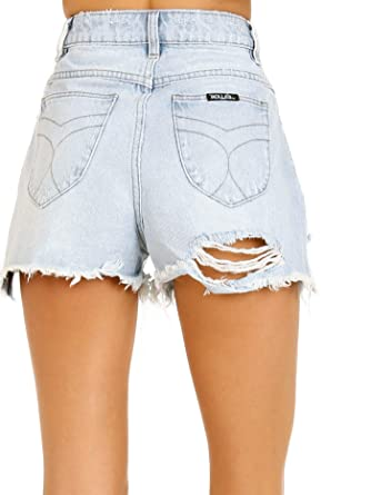 1bc3f953042 Rolla's Dusters Denim Short Layla Bleach at Amazon Women's Clothing ...