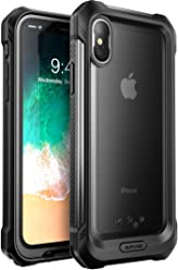 SUPCASE iPhone X, iPhone XS Case, SUPCASE [Unicorn Beetle Storm] Waterproof Full-Body Rugged Case with Built-in Screen Protector for Apple iPhone X 2017,iPhone XS 2018 Release (Frost/Black)