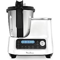 Moulinex ClickChef Robot de cocina multifunción 3.6 l Recetario en Castellano, 5 programas Auto, temperatura de 30 a 120…