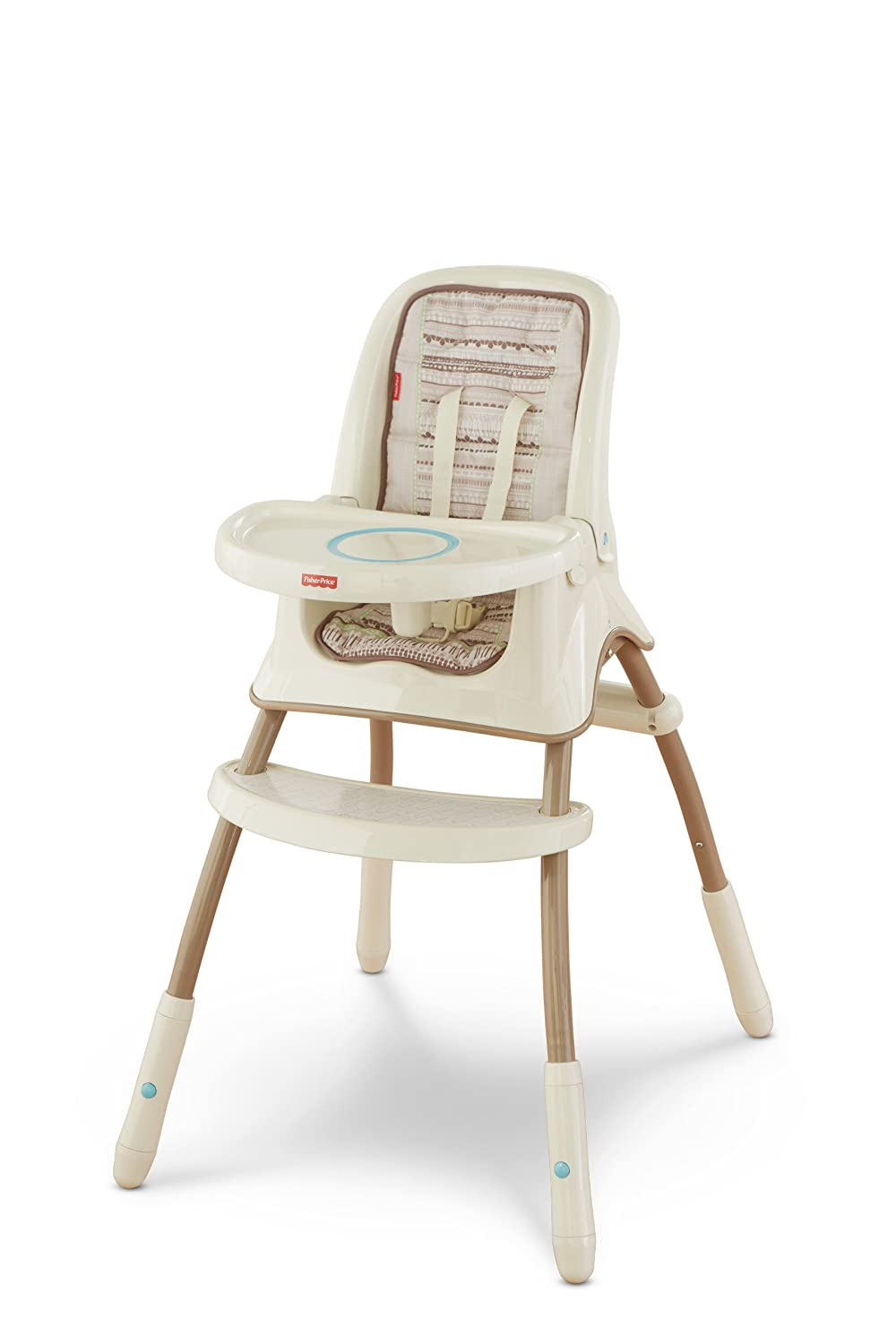 Fisher-Price Grow with Me High Chair, Bunny Mattel Y7875