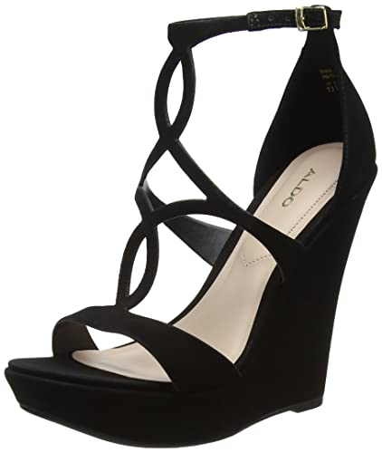 5d02ab3597d Aldo Women s Unelinia Platform Heels  Amazon.co.uk  Shoes   Bags