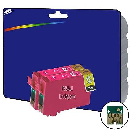 2 Magenta cartuchos de tinta XL no OEM Compatible para Epson ...