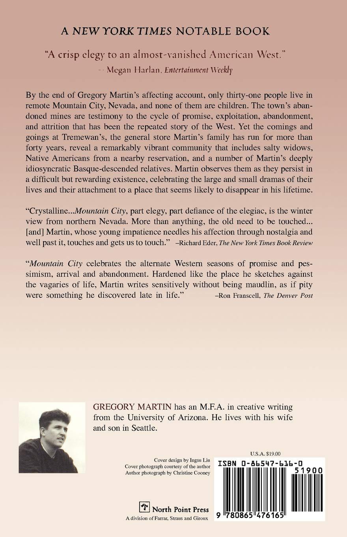MOUNTAIN CITY P: Amazon.es: Martin, Gregory: Libros en ...
