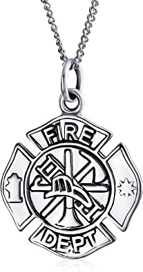 collier pompier homme