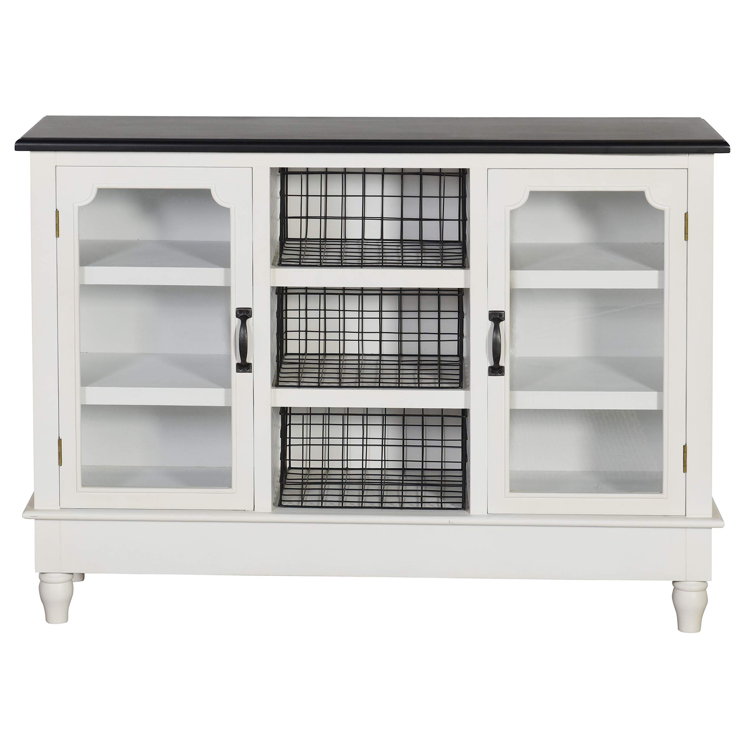 Collective Design AF17839AM Church St. Credenza, White by Collective Design