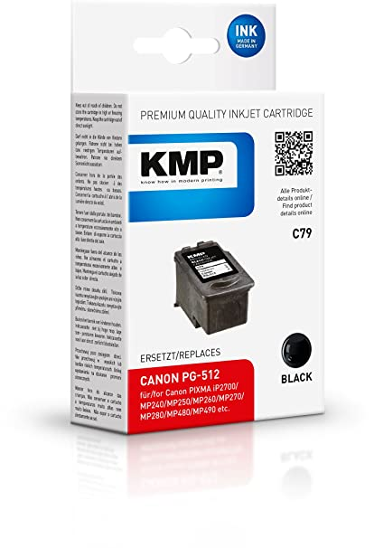 KMP C79 Negro cartucho de tinta - Cartucho de tinta para ...