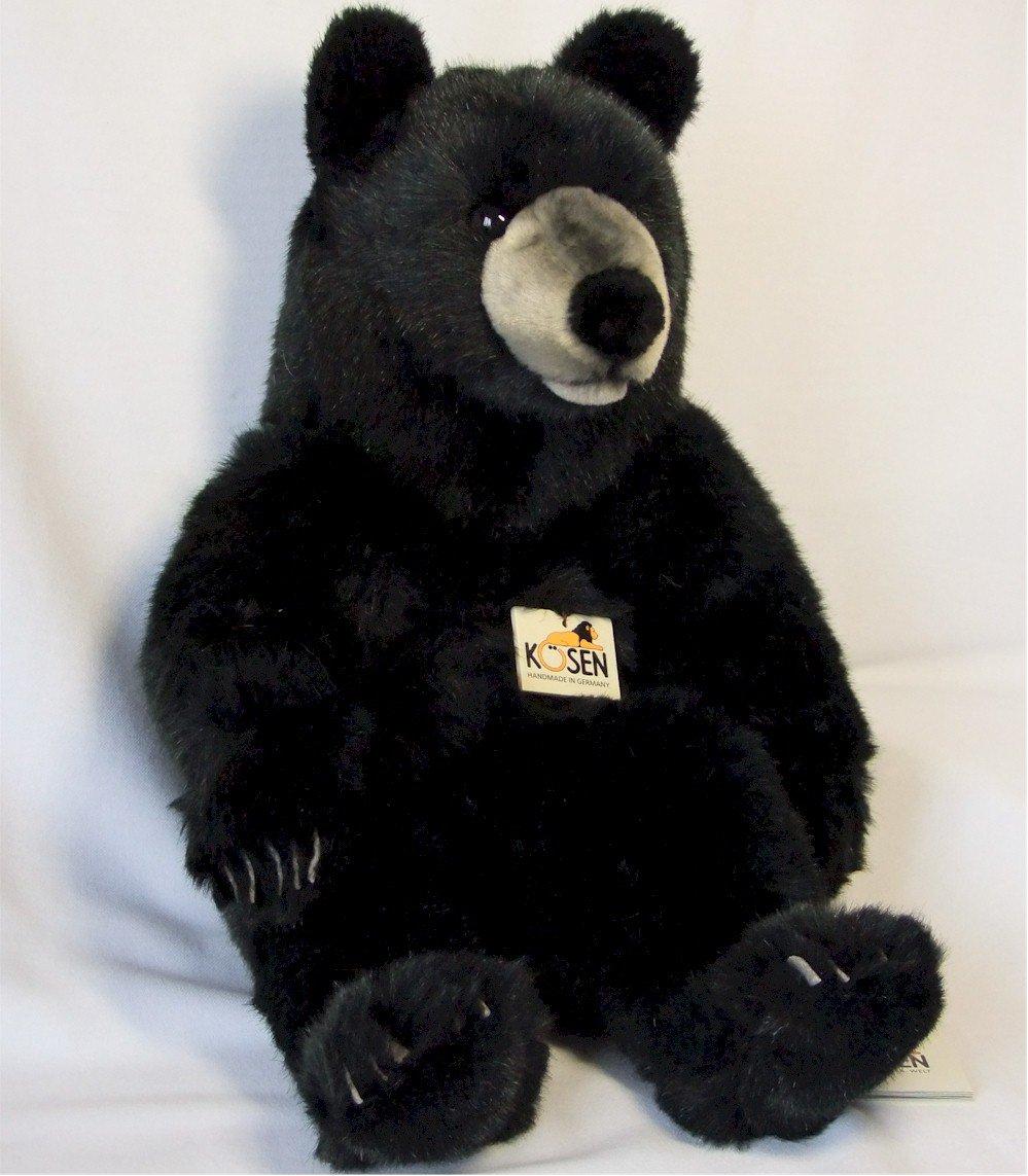 ソフトブラックベア(大) B00CAMPM22 KOSEN(ケーセン社) 51cm Black Bear Bear Sitting/クマ/くま/テディベア Black B00CAMPM22, シクロSHOP:2043291e --- ijpba.info