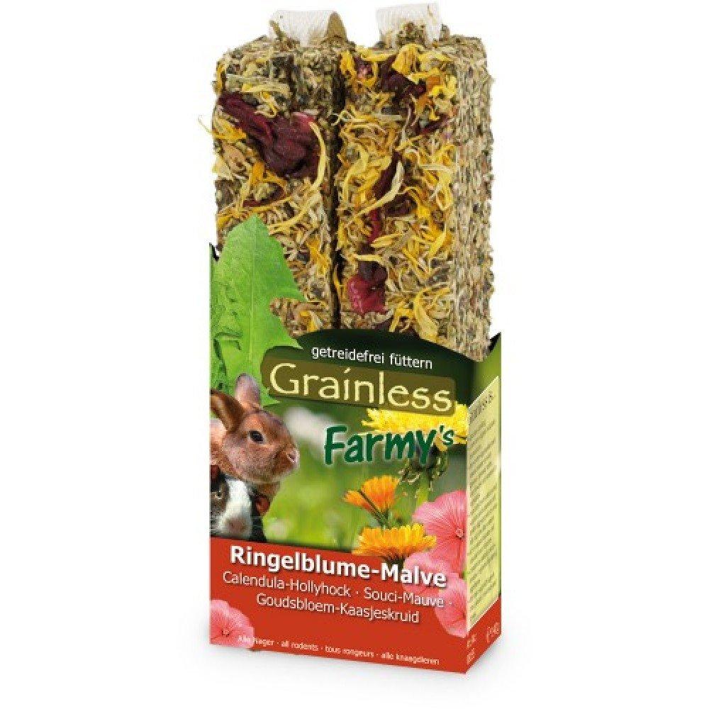Jr Farm - JR Grainless Farmys de sabores para roedores - 2138 - Caléndula Malvarrosa, 140 Grs.