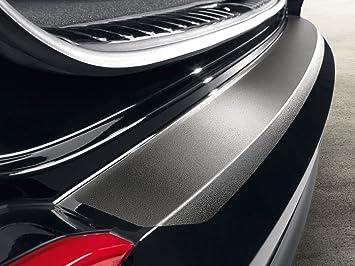 Hyundai Tucson D7272ADE00BL - Lámina protectora para parachoques, color negro