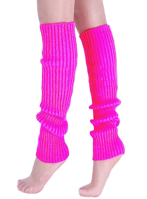 Jelinda Super Warme Damen Frauen Beinstulpen Stricken Stiefel Manschetten Socken Leg Knit Stulpen Warmers Socks Cuffs Knie 10 Farben
