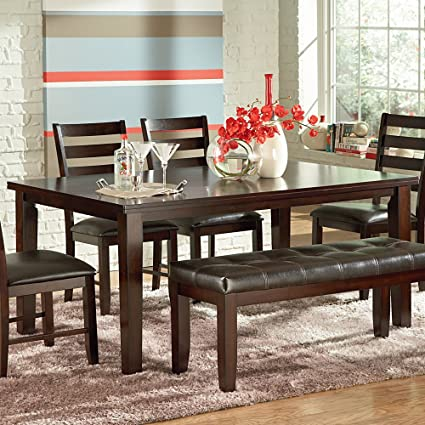 Amazoncom Steve Silver Company Sao Paulo Dining Table X - 30 x 42 dining table