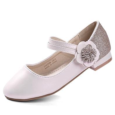 1873649e8a2c0 EIGHT KM EKM7009 Girls Shoes Low Heel Mary Jane Dress Pumps