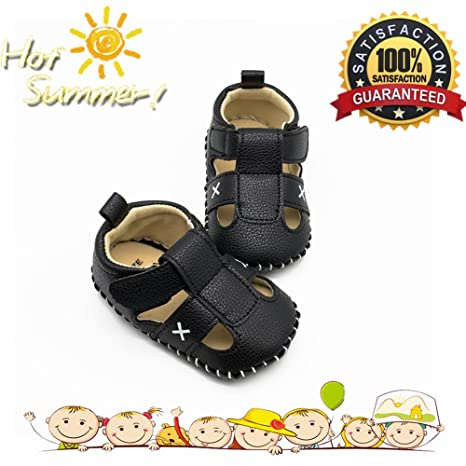 Morbuy Zapatos de Bebé Unisexo Primeros Pasos, Antideslizante Sandalias Bebe Verano Recién nacido Bebé Casual