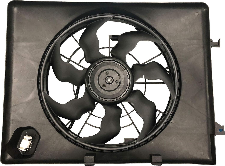 2011-2014 Kia Optima 2.4L XYZMOT 253803Q170 253803R170 Engine Cooling Fan Assembly For 2011-2012 Hyundai Sonata