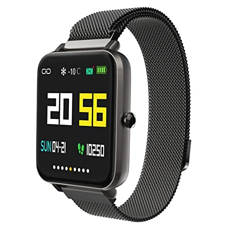Smart Watch for Android/Samsung/iPhone, Activity Fitness Tracker with IP68 Waterproof for Men Women & Kids, Smartwatch with 1.54
