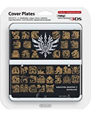 Nintendo - Cubierta Monster Hunter 4, Color Negro (New Nintendo 3Ds)