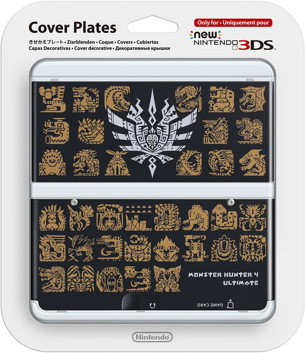 Amazon.com: Nintendo New 3DS Cover Monster Hunter 4 Ultimate ...
