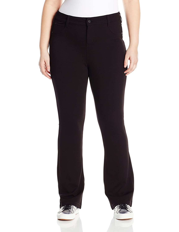 Celebrity Pink Jeans Women's Plus-Size Midrise Bootcut Ponte Pant
