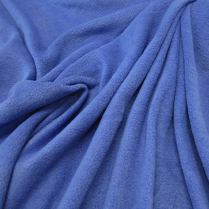 Stoff Meterware Fleece antipilling weich knitterfrei Polar gelb Kleiderstoff