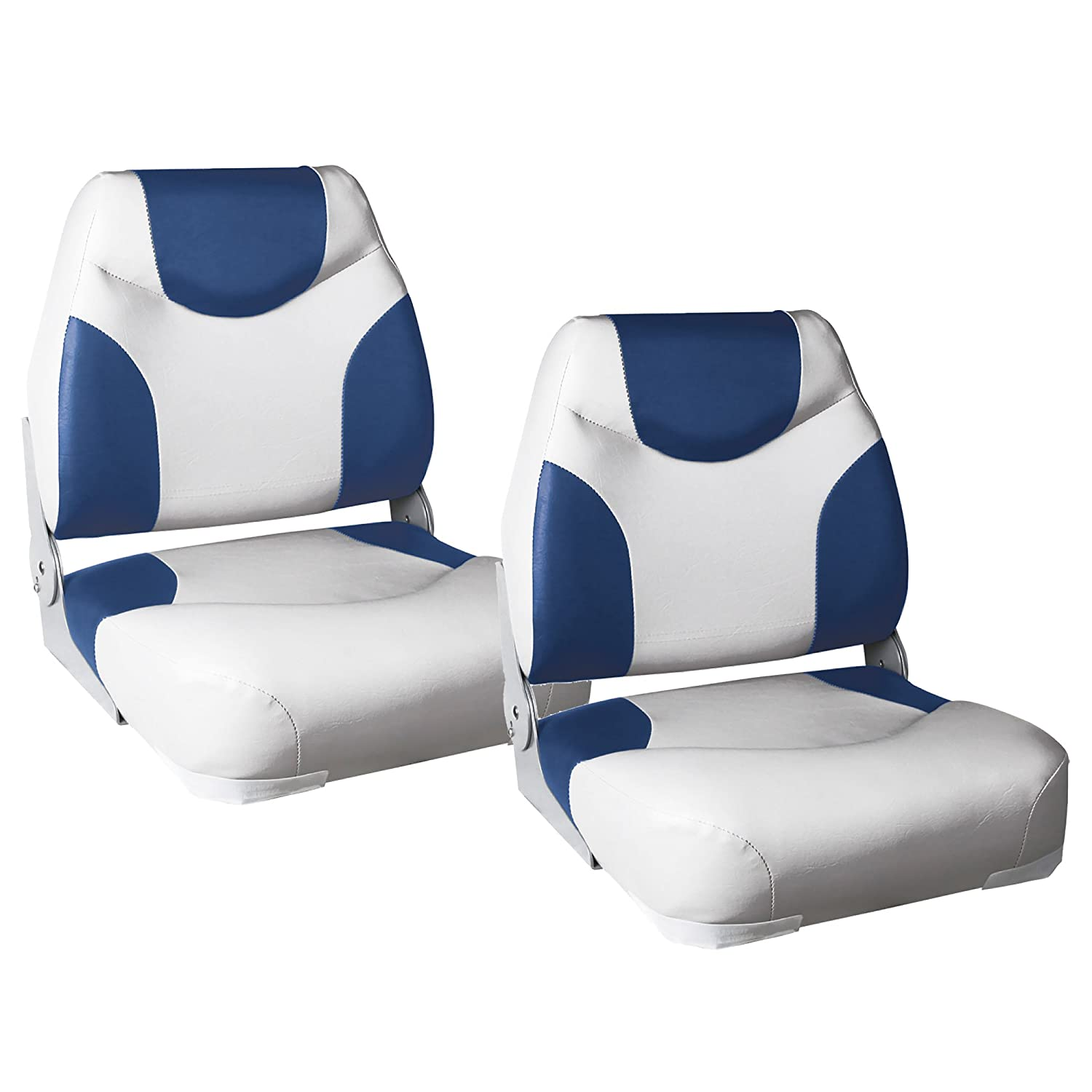 "'""Exclusive Line (Assorted Colours) [Pro. Tec] 2x Boat Seats in Economy Pack – Made from waterproof/Water-Resistant/Padded/Captain's Chair/Table/UV-Resistant [pro.tec]®"