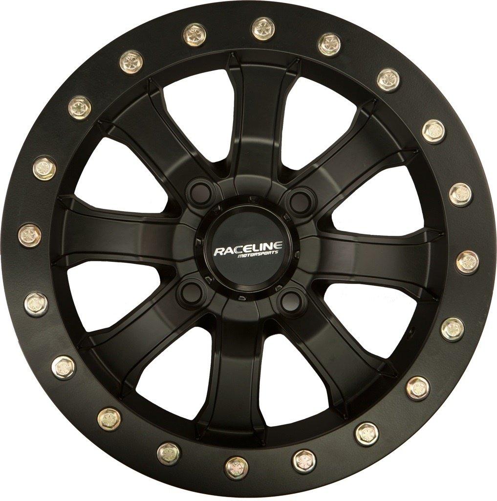 Raceline A71B Mama Beadlock ATV/UTV 14x7 4x136 6+1 Black Wheel Rim