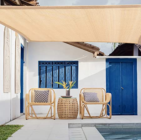 WISKEO Toldo Vela y Transpirable Pergola Kit Porche: Amazon.es: Hogar