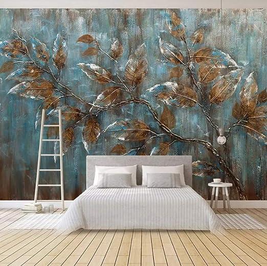 Papel Tapiz Mural Para Dormitorio Pintura Al Oleo De Estilo