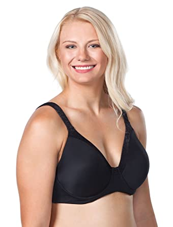 f9504cb1b Leading Lady Luxe Body T-Shirt Bra with Underwire Support Bra at Amazon  Women s Clothing store