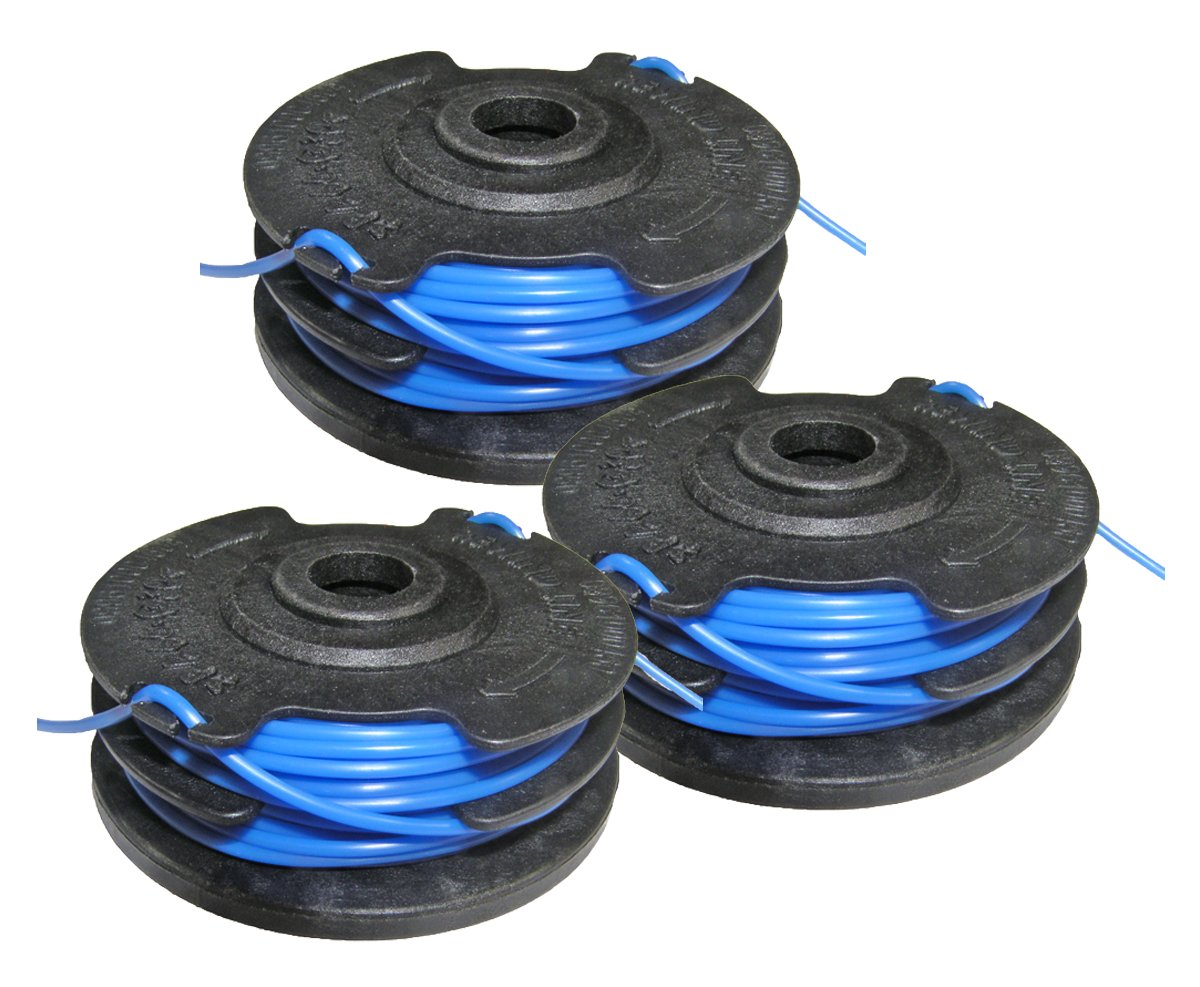 Homelite UT-41120 Toro 51480 String Trimmer Replacement 88512, AC41RL3 3 Pack Spool # 31104178G-3pk by Homelite