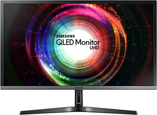 Samsung U28H750 Monitor 28'' 4K Ultra HD, 3840 x 2160, Pannello TN, Quantum Dot, 60 Hz, 1 ms, Nero