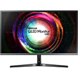 Samsung U28H750 Monitor 4K Ultra HD 28'', UHD, 3840 x 2160, Premium Quantum Dot, 1.07 Miliardi di Colori, 60 Hz, 1 ms, 2 HDMI, 1 Display Port, Base Semplice, Nero