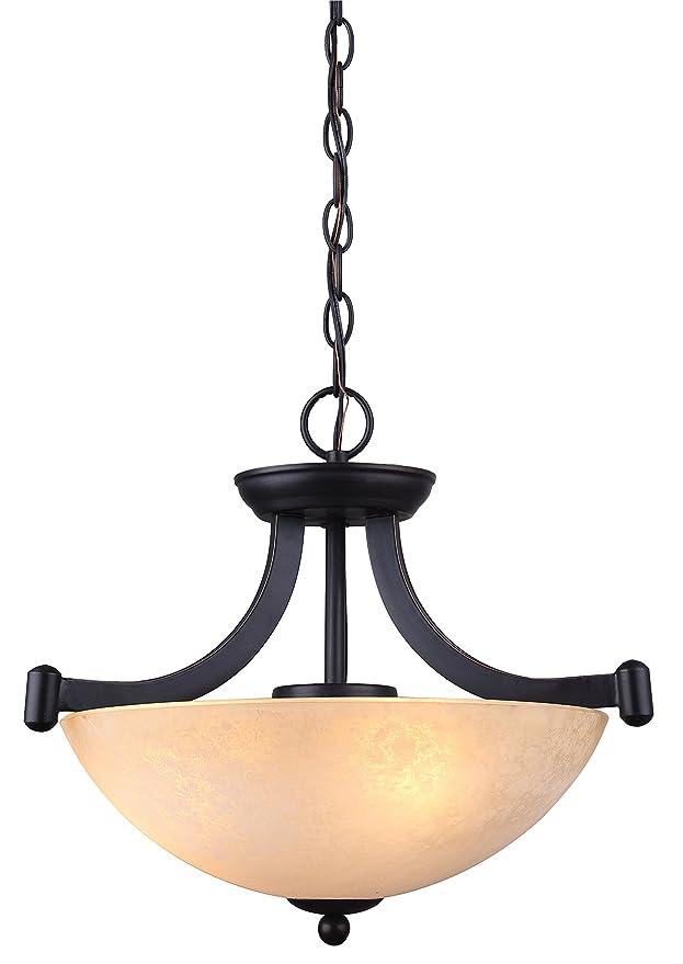 canarm ich375a03ra14 3 light warren dual large pendant light fixture