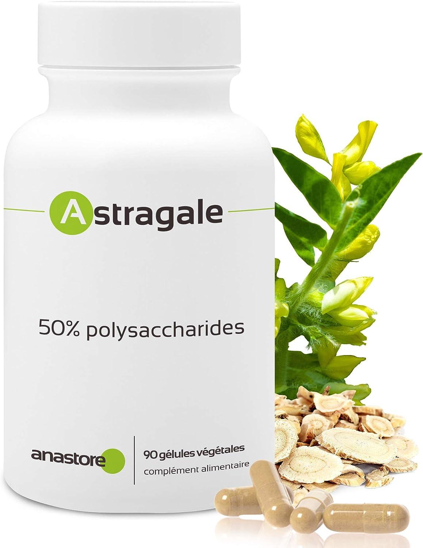 ASTRÁGALO * 500 mg/cápsulas * Cardiovascular (circulación), Inmunitario (antimicrobiano, estimulación de defensas naturales)