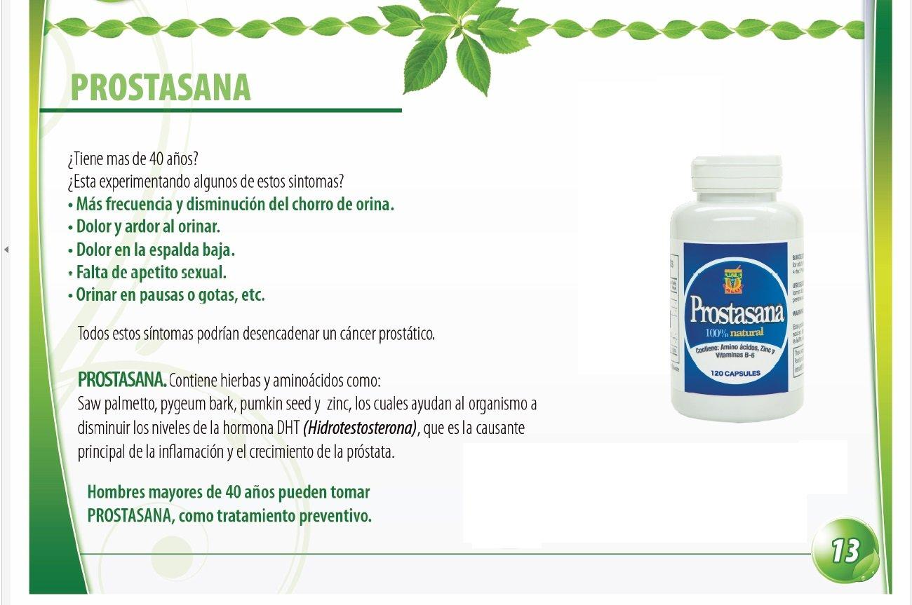 Prosta Sana, Capsulas naturales para el alivio de la Prostata inflamada. Prostate Support with Saw...