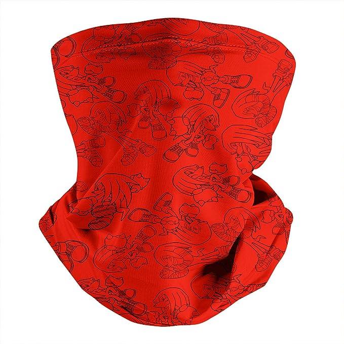 BaoXiaoShou Sonic The Hedgehog Vector The Crocodile Neck Warmer Bandanas Scarf Face Guard Cover