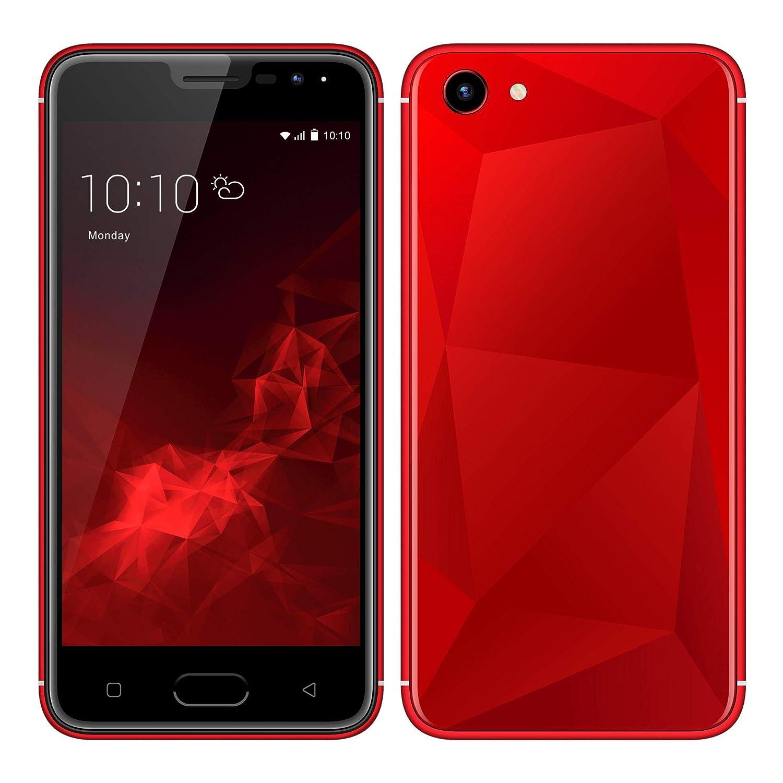 Móviles y Smartphones Libres, Unlocked 3G Teléfono Móvil Libre y sin Bloqueo de SIM, 5.0 Pulgadas con Pantalla HD Procesador...