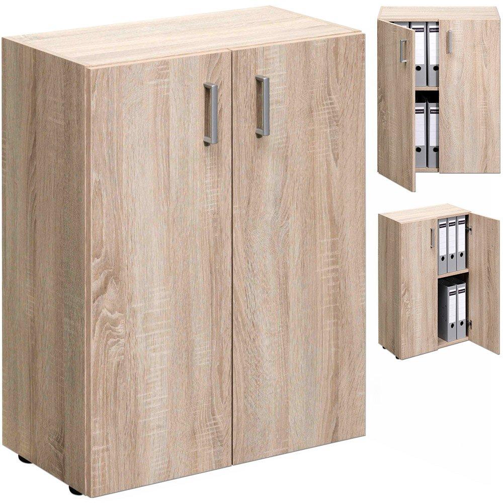 Armoire Avec 2 Portes Rangement Meuble Tag Re Module Bureau  # Placard De Rangement Bureau