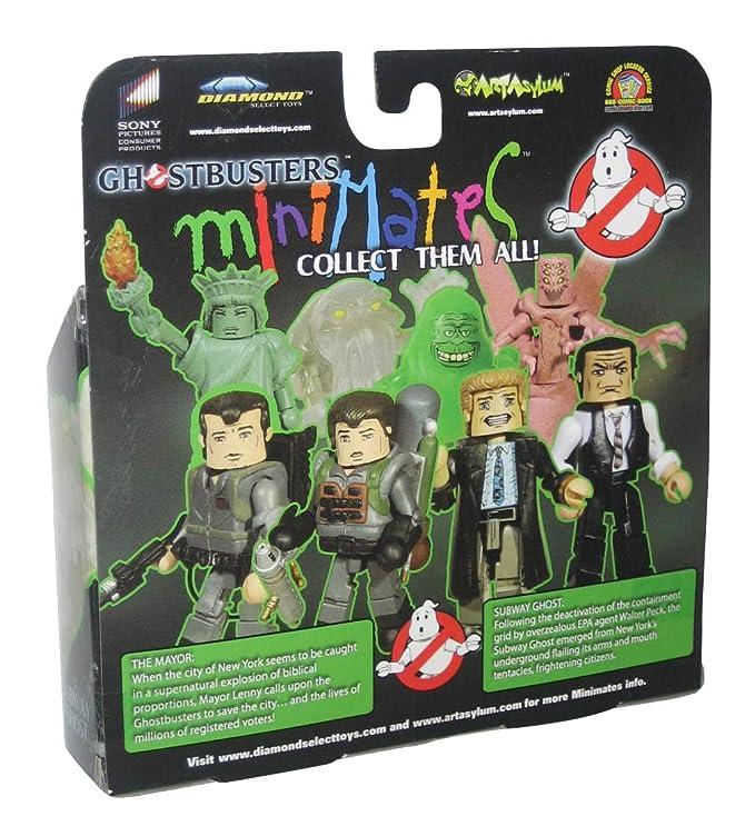 Amazon.com: Ghostbusters Exclusive Minimates Mini Figure ...