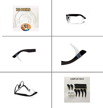 2417ba2bf0 20 PAIRS Keepons Superstretch White Prevent Eyeglass Slipping Anti Slip  Anti Slide Eyewear Sunglasses Spectacles Glasses