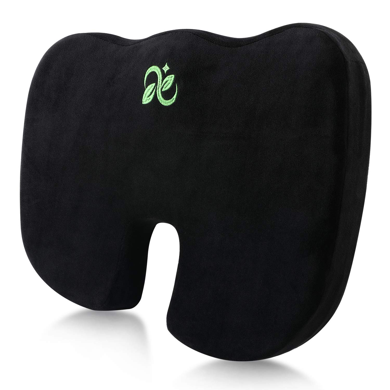 Coccyx Seat Cushion Comfort Memory Foam Seat Cushion Orthopedic Chair Pillow Back Pain Relief Sciatica Tailbone Pain Back Support Seat Cushion Office Car Sitting Pregnancy Travel Driving Seat Cushion.