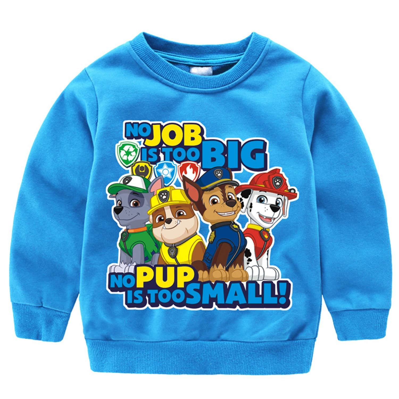 PCLOUD Cute Dog Children Long Sleeve Hoodies Sweatshirt