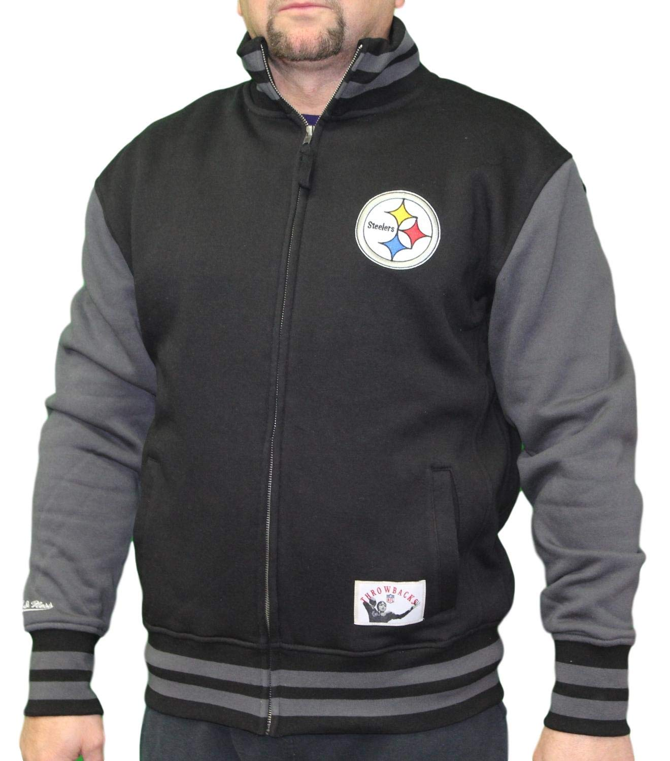 first rate 6e17b 77839 Amazon.com : Mitchell & Ness Pittsburgh Steelers NFL Men's ...